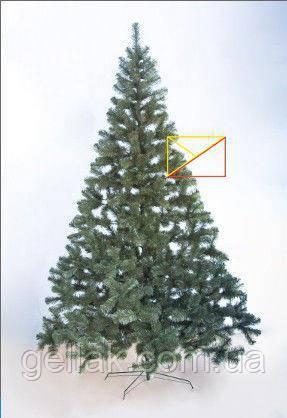 Искусственная елка ПВХ 2,5м (250см)