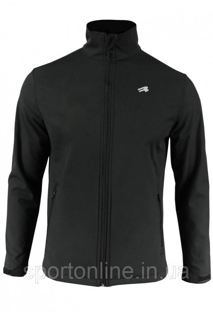 Спортивная куртка с мембраной и отражателями Radical Crag, черная