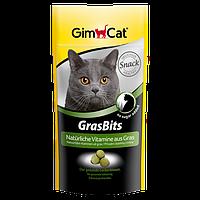 """Витаминизированные лакомства с травой для кошек """"GimCat GrasBits"""" 65шт/40г"""