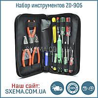 Набор инструментов для пайки ZD 905 в пенале, фото 1