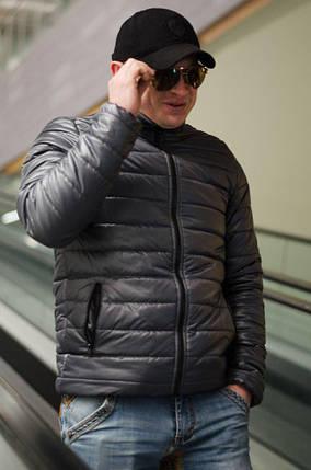 """Стеганая мужская куртка на синтепоне """"ZION"""" с карманами, фото 2"""