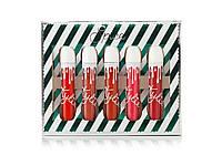 Помада Kylie Spice Lip Set (5 оттенков) (реплика)