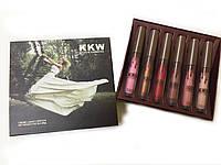 Помада Kylie KKW Creme Liquid Lipstick №2 (реплика)