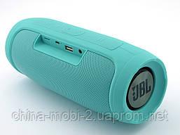 JBL Charge4 E4 копия, Bluetooth колонка 20W  с FM MP3, мята, фото 2