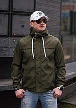 """Стильная мужская куртка-ветровка """"PLEIN"""" с карманами и капюшоном (4 цвета), фото 3"""
