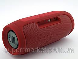 JBL Charge4 E4 20W копия, Bluetooth колонка с FM MP3, красная, фото 3
