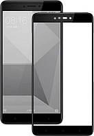 Защитное стекло для Xiaomi (ксиоми) RedMi Note 4X 3D Black, фото 1