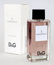 Парфюмерия духи для женщин Dolce Gabbana Anthology L`Imperatrice 3 реплика, фото 3