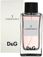 императрица духи от Dolce Gabbana D&G 3 L'Imperatrice реплика