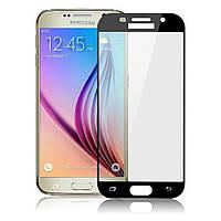 Защитное стекло 3D для Samsung (самсунг) A7/A720 Black, фото 1