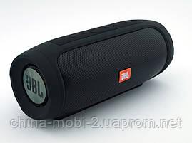 JBL Charge4 E4 20W копия, блютуз колонка с флешкой и фм, черная, фото 3