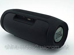 JBL Charge4 E4 20W копия, блютуз колонка с флешкой и фм, черная, фото 2