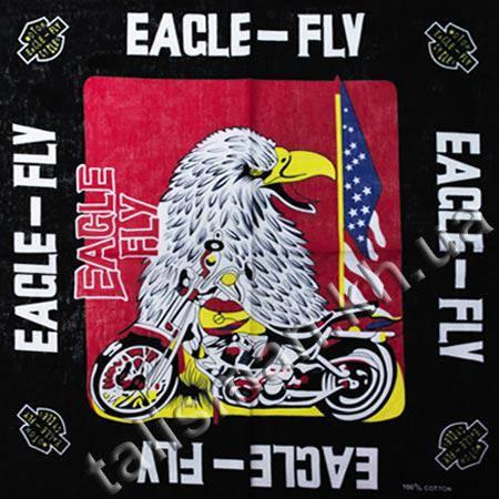 Бандана BAN-014-01 - Eagle Fly (красный фон) , фото 2