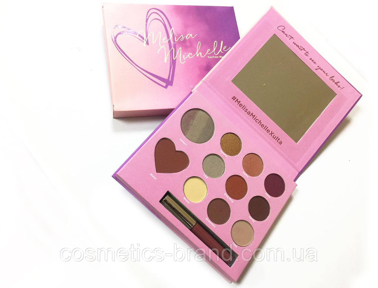 Палетка для макияжа Melisa Michelle Makeup Palette (реплика)