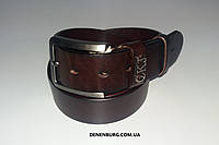 Ремень мужской CALVIN KLEIN 0147 тёмно-коричневый