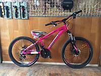Велосипед phoenix 1002 алюминевая 13 рама 24 колеса