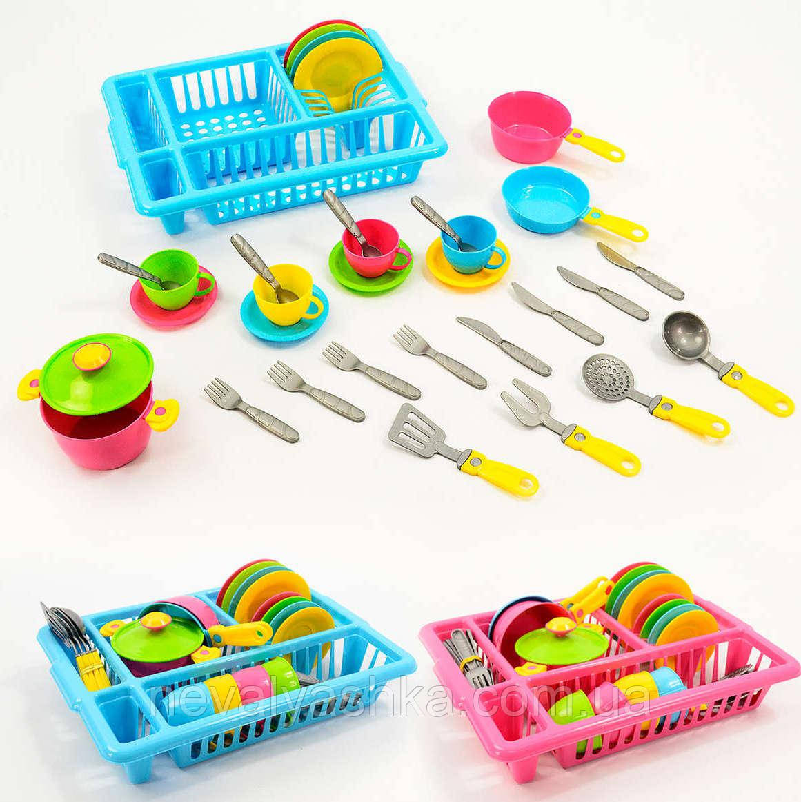 Набор посуды детская игрушечная посудка Технок, 3282, 007391