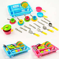 Набор посуды детская игрушечная посудка Технок, 3282, 007391, фото 1