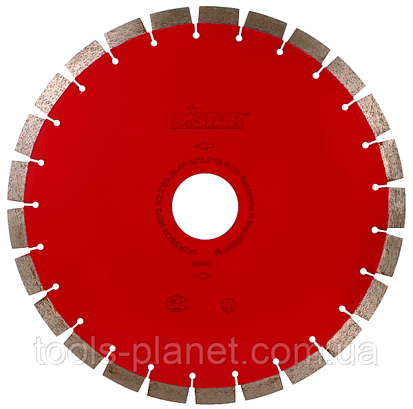 Алмазный диск Distar 1A1RSS/C1 300 x 2,8 x 10 x 25,4 Sandstone (13185076022)