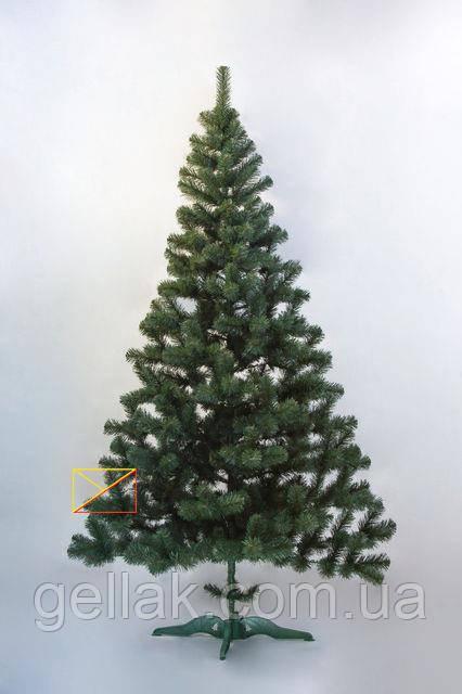 Искусственная елка ПВХ 2,2м (220см)