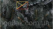 """Сосна искусственная """"Княжна"""" с белыми кончиками 1,3м (130см), фото 2"""