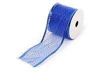 Лента декоративная, цвет - синий