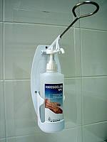 Дозатор локтевой для 500 мл флаконов с насосом АНИОС, фото 1