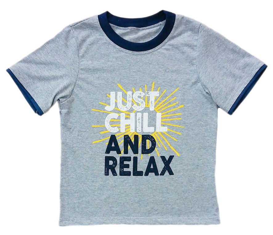 "Футболка для мальчика ""Relax"""