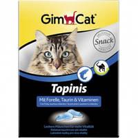 """Витаминные мышки с таурином и форелью с ТГОС для кошек """"Gimpet Topinis"""" 180шт/220г"""