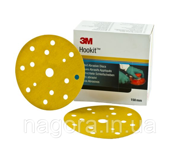 Абразивні диски Hookit 255P+ 150мм P320 15 отв