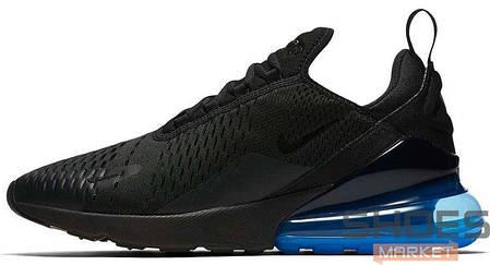 Мужские кроссовки Nike Air Max 270 Black/Black-Photo Blue AH8050-009, Найк Аир Макс 270, фото 2