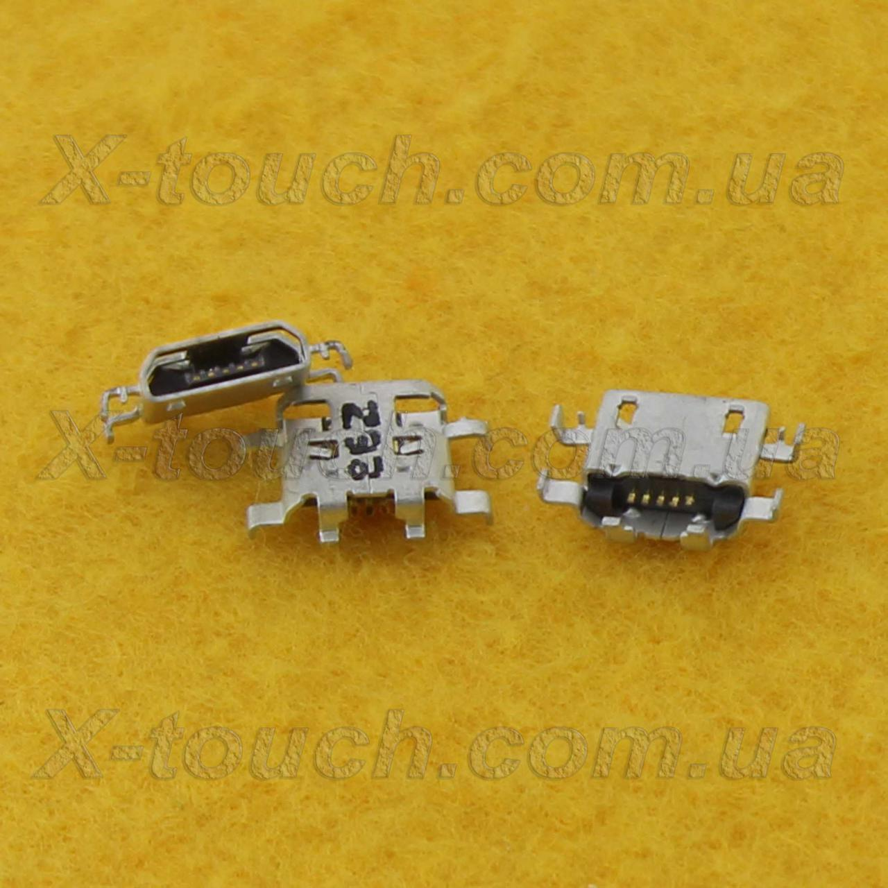 Sony Xperia M2 D2305 разъем зарядки micro-B USB 5pin.