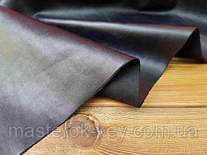 Кожа натуральная обувная лицевая (товар) т.1,2-1,4мм цвет черный