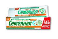 """Зубная паста """"Семейная""""с экстрактом тысячелистника и ромашки"""