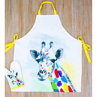 Набор для кухни Barine - Giraffe фартук с рукавичкой