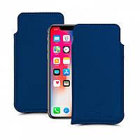 Футляр Stenk Elegance для Apple iPhone X / Xs Синий