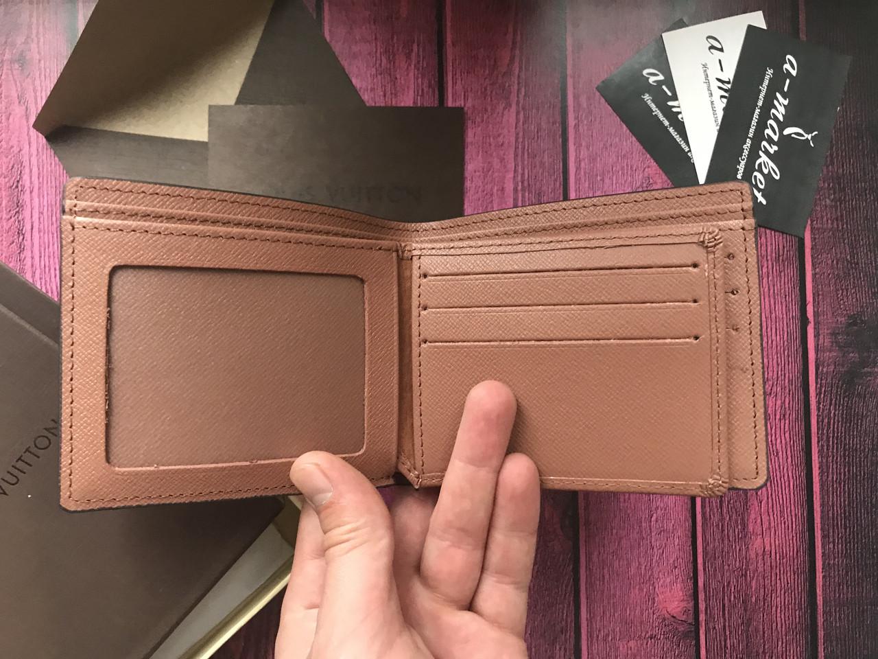 ca771d340a58 Кошелек клатч портмоне бумажник мужской женский Louis Vuitton Monogram премиум  реплика, цена 550 грн., купить в Одессе — Prom.ua (ID#677510800)