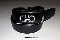 Ремень мужской SALVATORE FERRAGAMO F120 чёрный, фото 1