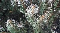 """Елка искусственная """"Lida"""" с белыми кончиками (ПВХ) 2,0м (200см), фото 4"""