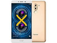 """Смартфон Huawei Honor 6X 5.5"""" (1920x1080) / Kirin 655 / 3Гб / 32Гб / 12Мп Sony / 3340мАч / Золотой"""