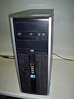Настольный Компьютер 4 ядра Quad Q9400/HP Compaq 8000//DDR3 4GB/HDD 320GB/INT VIDEO Б/У