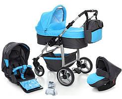 Многофункциональная детская коляска PARIS 3в1