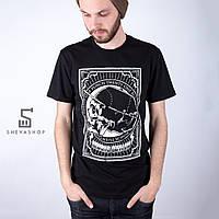 Футболка мужская Punch - Always Outlaw Skull черная