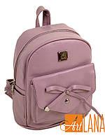 Рюкзак женский иск-кожа 21*23*13 розовый 28792