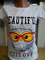 Женская летняя футболка 31.84 с.т. , фото 1