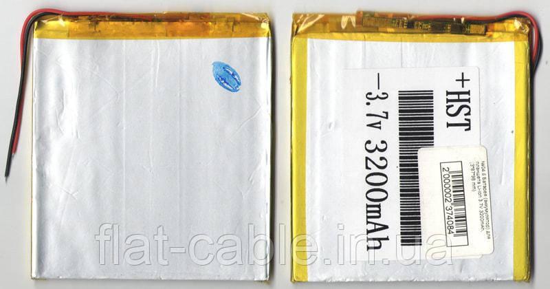 №04.6 Батарея (акумулятор) для планшета Li-ion 3200mAh 3.7v (3*87*98 mm)