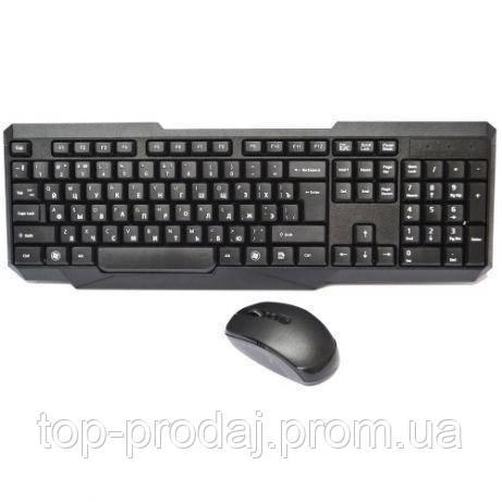 Клавиатура KEYBOARD HK-118, Игровая радио клавиатура + мышка в комплекте, Беспроводная мышь и клавиатура