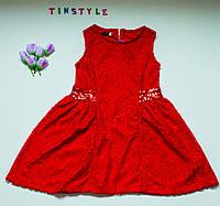 Нарядное гипюровое платье для девочки  (12 лет), фото 1