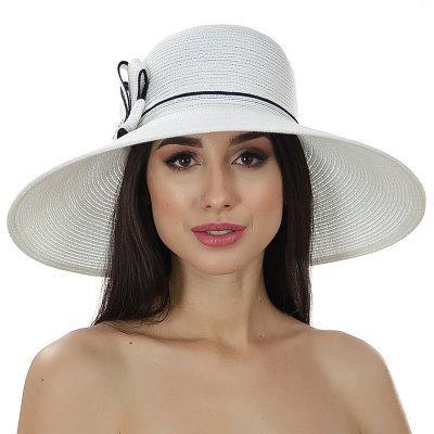 Шляпы Del Mare модель 134 белый-черный