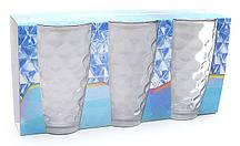 Набор стеклянных стаканов 425мл (3шт) прозрачный